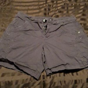 Style & co brown shorts 10